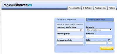 buscar numeros de telefono movil de particulares páginas blancas