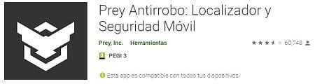 app prey anti robo
