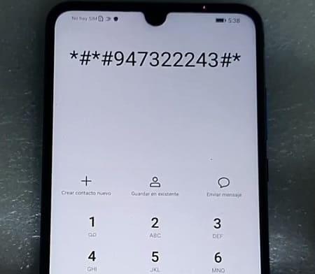 Código Huawei