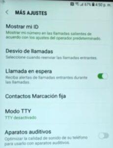 Desvío llamadas Android