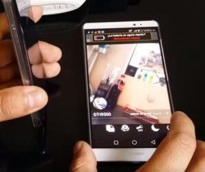 Espiar cámara móvil