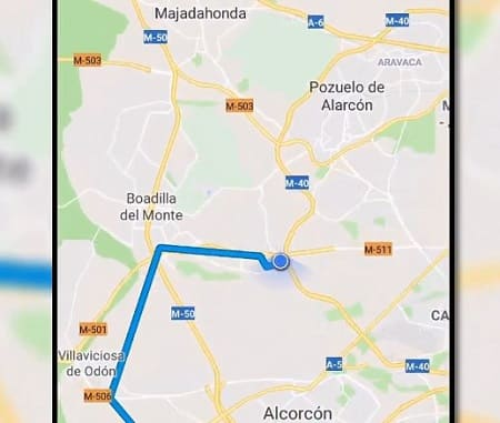 Google Maps móvil