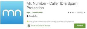 Mr. Number