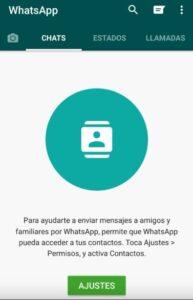 Permisos WhatsApp