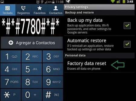códigos Android