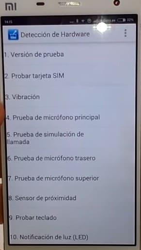 modo ingeniero Xiaomi