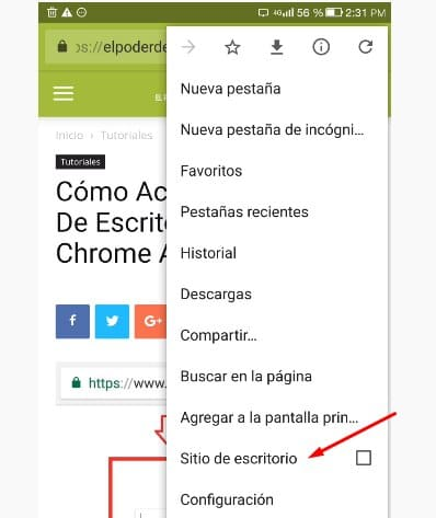 Chrome escritorio