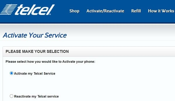 Activar tarjeta Telcel
