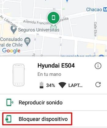 Android Device Manager cómo funciona