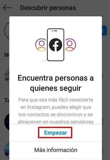 Cómo encontrar personas en Instagram