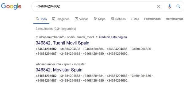 Buscar personas España