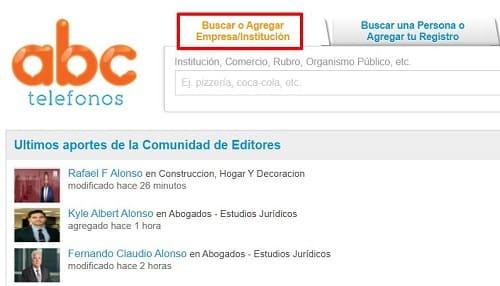 ABC Teléfonos Latinoamérica
