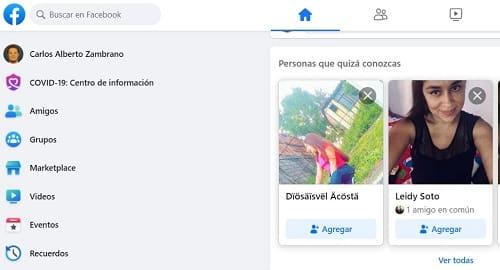Buscar en Facebook fácil y rápido