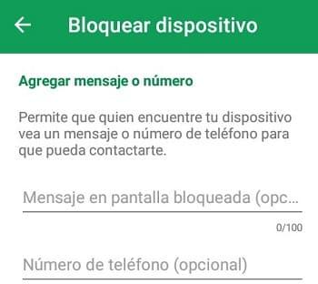 Android Device Manager funciones y características