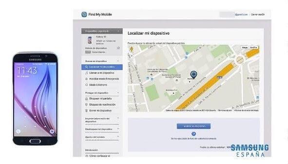 Localizar celular Samsung