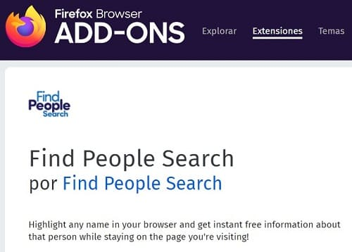 Páginas para buscar personas