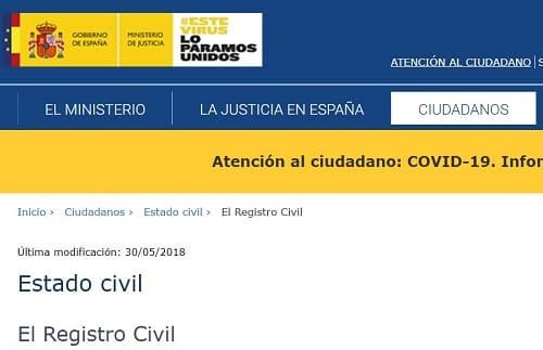 Buscar por DNI Registro España