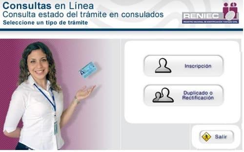 Reniec servicios en línea
