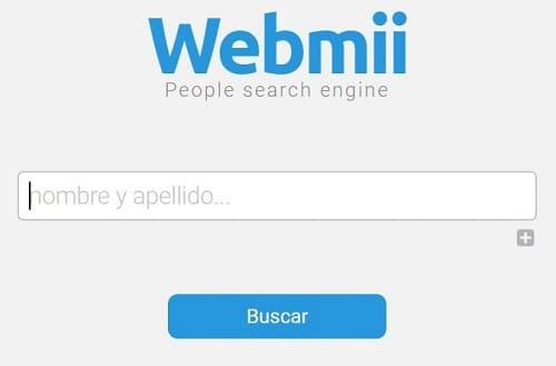 Página para buscar personas