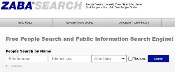 Páginas para buscar personas por nombre