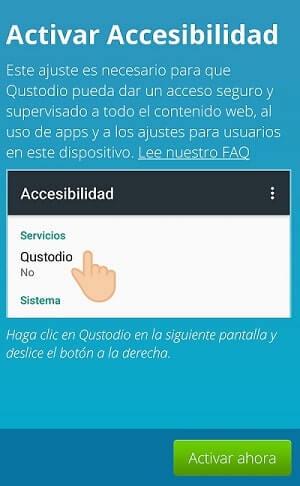 accesibilidad custodio