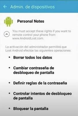 app de rastreo android lost