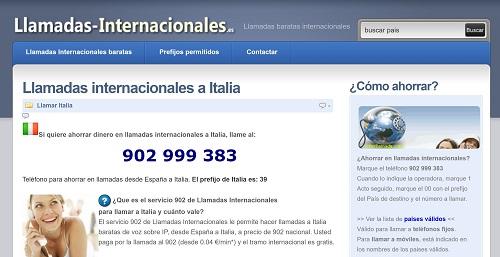 Cómo hacer llamadas internacionales desde España a Italia
