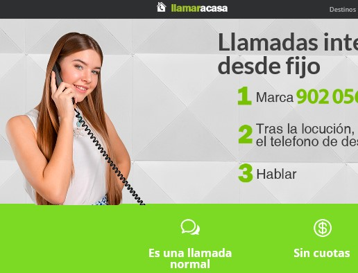Llamar a casa España gratis