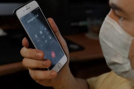 llamadas de emergencia sin red movil